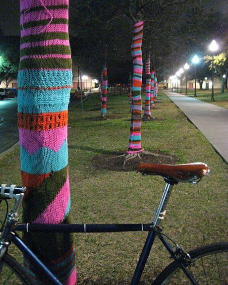 a week of colors: knit graffiti