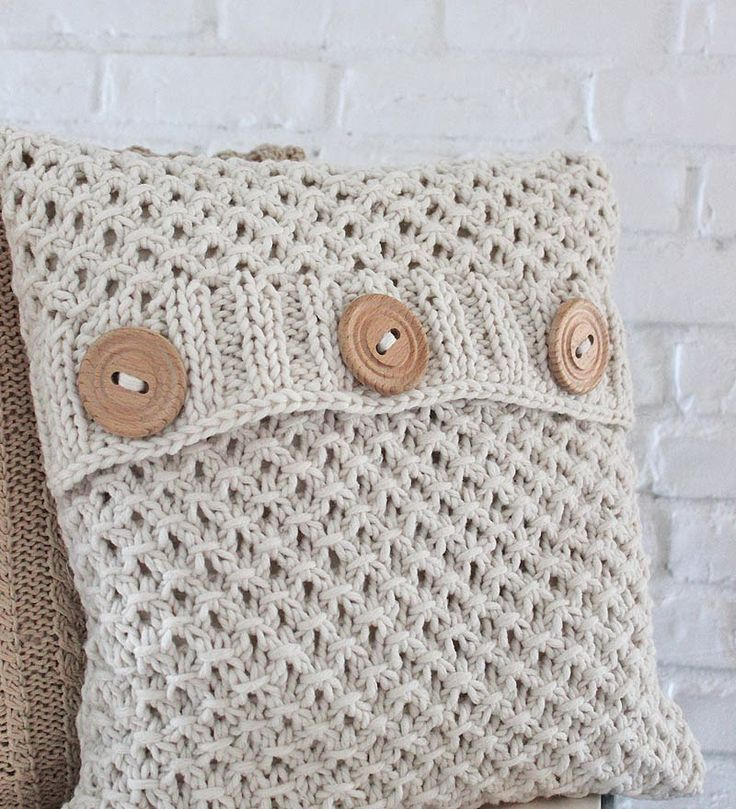 The textured pattern and great buttons are perfect for my family room