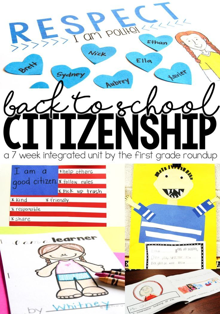 Start off the school year with a social studies unit on citizenship!  Learn rules, attitudes, school communities all while learning about the rights and responsibilities of citizens too! 7 weeks of detailed plans, materials, crafts and more!