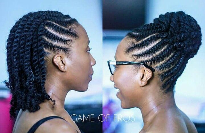 Natural Hairstyles After Blowout Naturalhairstyles Natural Hair Twists Natural Hair Updo Twist Hairstyles