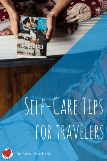 Here are some helpful tips for practicing #selfcare on the road, compiled by this month's guest writer. He'll help you determine what self-care looks like, figure out what items to pack for your trip, and suggest things to do to ease #anxiety and #depression while you travel. #traveltips #travel