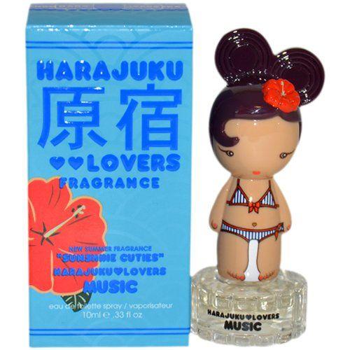 Harajuku Lovers Sunshine Cuties Music Women Eau De Toilette Spray by Gwen Stefani, Mini, 0.33 Ounce for only $10.89 You save: $19.11 (64%)