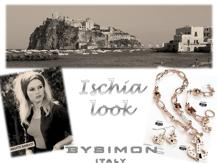 Ischia island look with Bysimon Cassiopea jewels.
