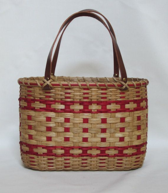 Shoppers ToteBasket by JGBaskets on Etsy, $48.00