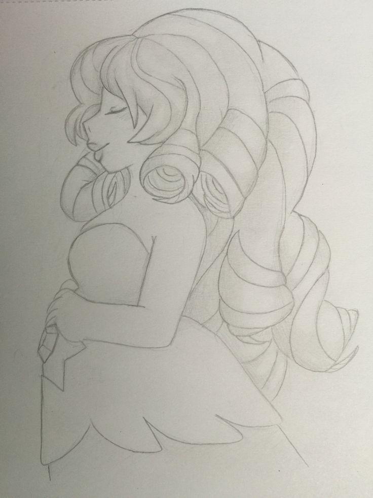 Rose Quartz Sketch