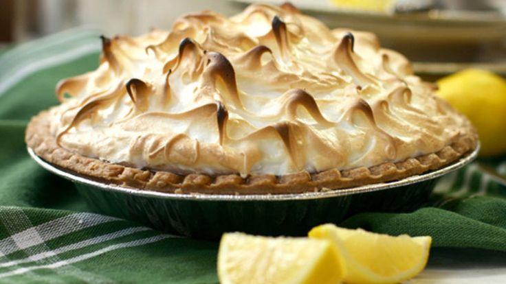 A dessert to impress, our lemon meringue pie uses Pillsbury Pet Ritz deep-dish pie crust to save time.