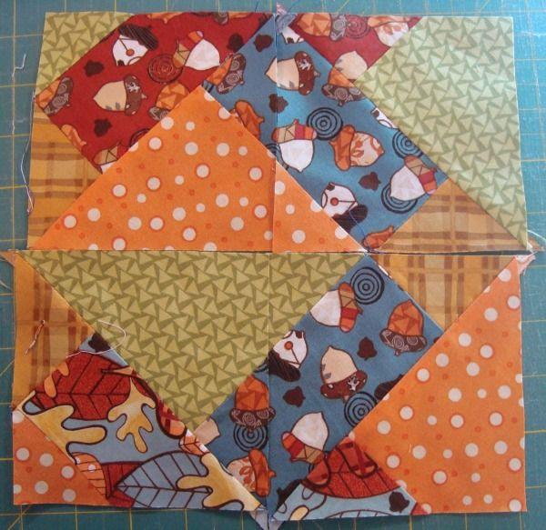 double nine patch quilt instructions