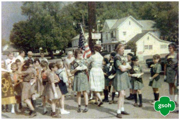 1960's Warsaw, Ohio was the scene of this parade. It's almost parade season—where will your Girl Scout troop march this year? #ThrowbackThursday