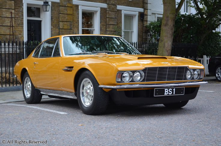 "1970 ASTON MARTIN DBS - ""The Persuaders Car - Brett Sinclair"""