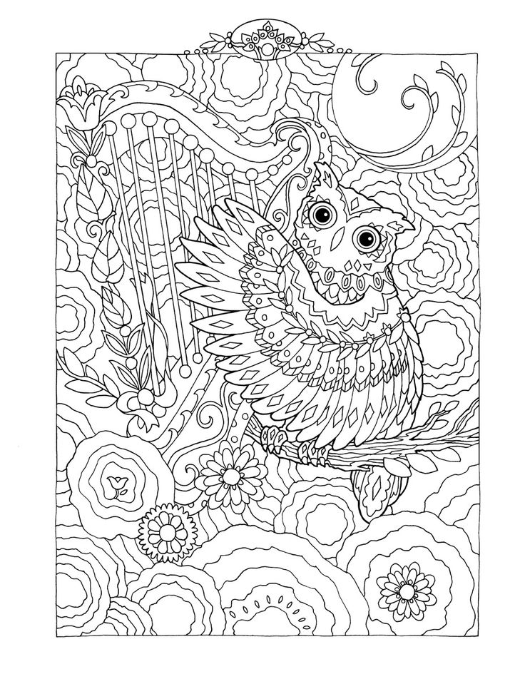 60 best Owl coloring pages images on Pinterest | Coloring books ...