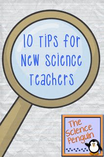 The Science Penguin: Advice for New Science Teachers {10 Tips}