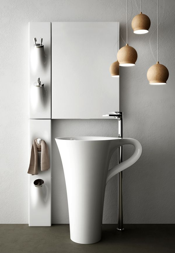 Find This Pin And More On Freestanding Sink Szabadon Ll Mosd