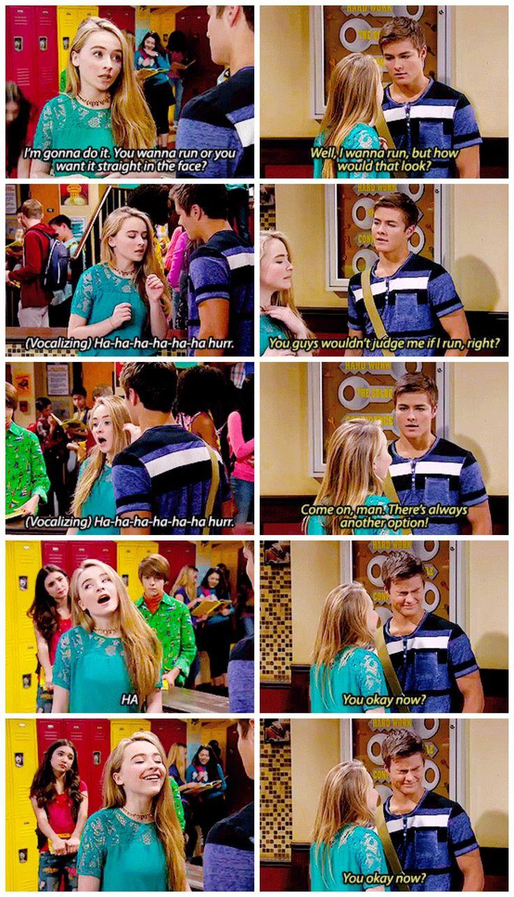 "#GirlMeetsWorld 2x12 ""Girl Meets Yearbook"" - Maya and Lucas"