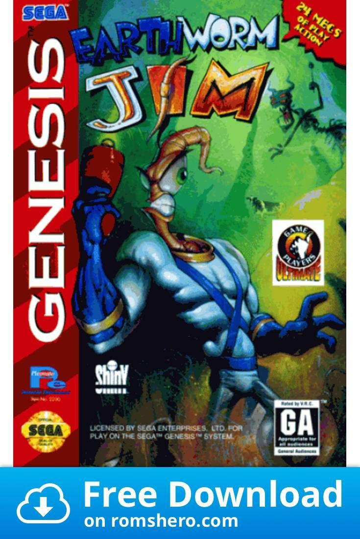 Download Earthworm Jim Sega Genesis Sega Mega Drive Rom In