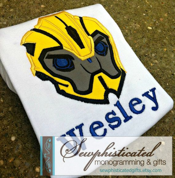 Transformers Bumblebee Shirt By SewphisticatedGifts On Etsy 2000