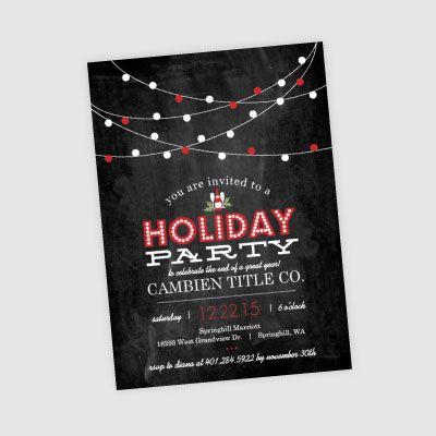 33 best PixelStix Christmas Party Invitations images on Pinterest