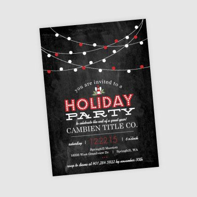 company christmas party invitation - Google Search