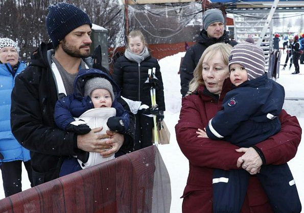 Princess Sofia Joins Tjejvasan 2018 Ski Race in Mora