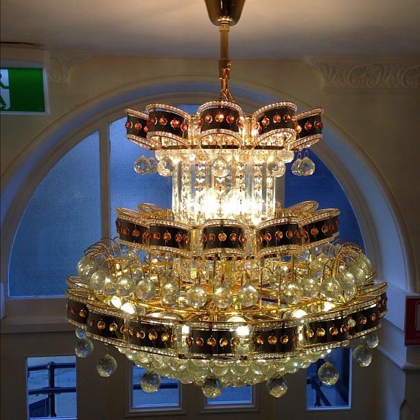 Pretty chandelier. #art @tcehotelperth #socmedsleepover