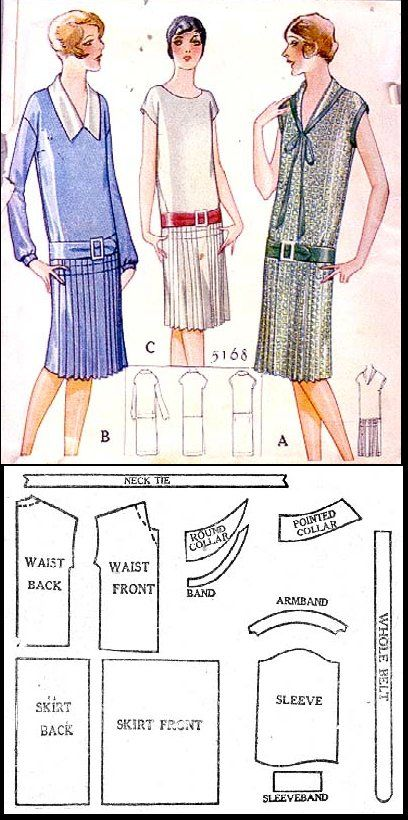 1927 Day Dress http://copa.apps.uri.edu/sample_garment.php?patID=30913