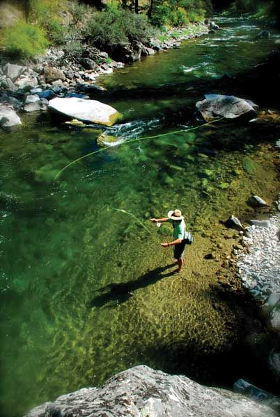 Idaho fly fishing.  http://www.sunvalleymag.com/Sun-Valley-Magazine/Summer-2011/Carved-by-Water/300.jpg