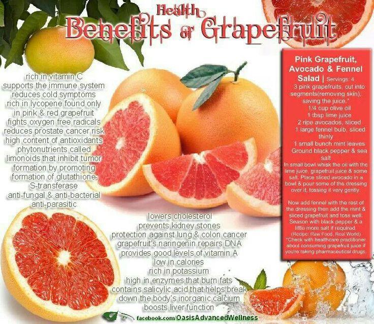 grapefruit benefits one of my favorite foods