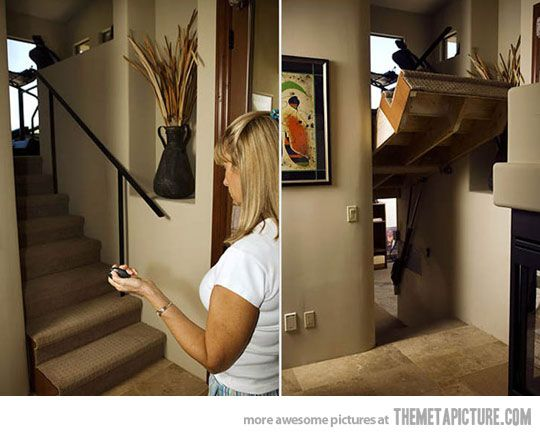 I want this! Secret Stairs