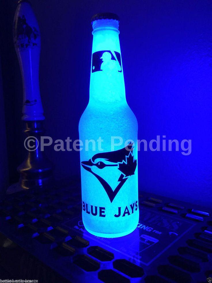 #MLB Toronto Blue Jays #Baseball 12 Oz Beer Bottle Light Led Bar Man Cave Neon from $20.99