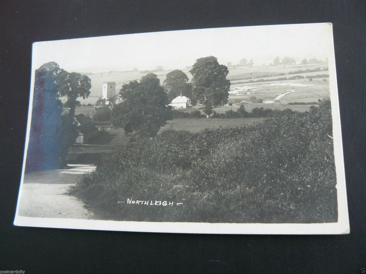 North Leigh Real Photo RP Postcard by Hank Packer of Chipping Norton | eBay