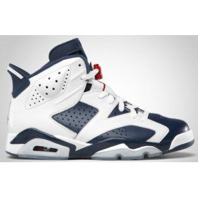 384664 130 Air Jordan Retro 6 Olympic 2012 White Midnight Navy Varsity Red cheap  Jordan If you want to look 384664 130 Air Jordan Retro 6 Olympic 2012 White  ...