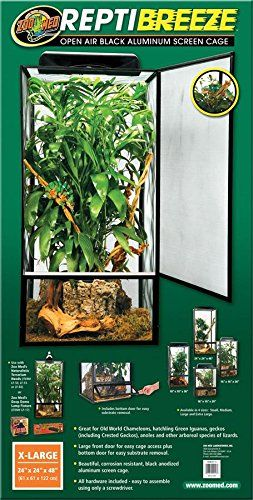 Zoo Med Repti-Breeze Open Air Screen Cage, Extra Large: Amazon.ca: Pet Supplies