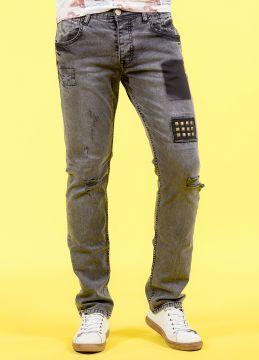Yeni Sezon Antrasit Erkek Kot Pantolon