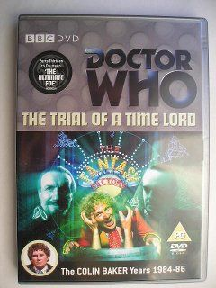 """""""The Ultimate Foe""""is the fourth and last adventure of the twenty-third season, known by the global title """"The Trial of a Time Lord"""". which aired in 1986. """"The Ultimate Foe"""" has the parts that go from thirteenth to fourteenth of this season followeing """"Terror of the Vervoids"""" and it's a two parts adventure written in part by Robert Holmes and in part by Pip and Jane Baker and directed by Chris Clough. Image from the British edition of the DVD. Click to read a review of this adventure!"""