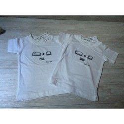 """Camisetas """"Copiar - pegar"""" gemelos mellizos Betwinsshop regalos ideales"""