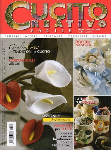 Cucito Creativo nº 21 - Lemon Cat - Веб-альбомы Picasa