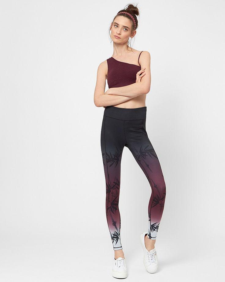 Chandrasana Reversible Yoga Leggings