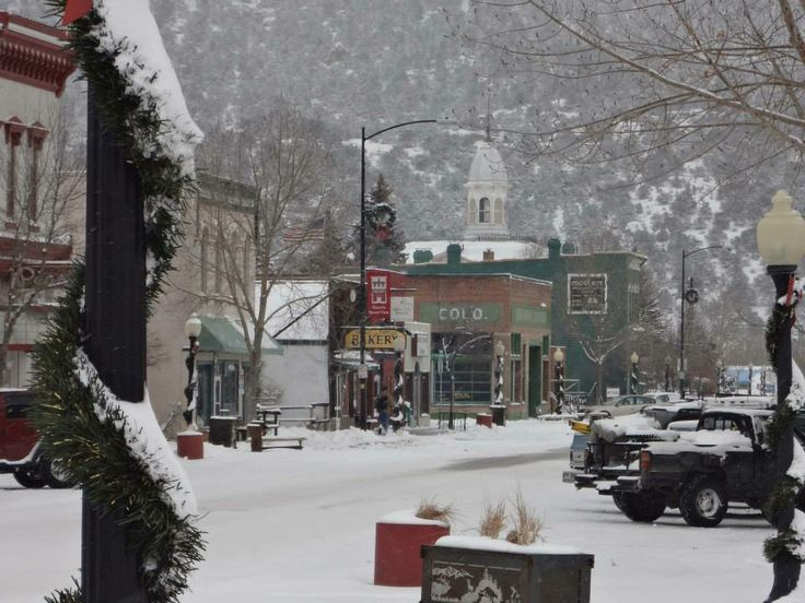 Buena Vista, Colorado downtown Main Street, December 7, 2013. Glad we are going in the summer!