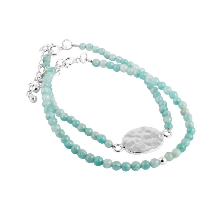 Gypsy Stones by Murkani in Sterling silver and amazonite.. Turquoise shades never looked so good. Available now at www.murkani.com.au.