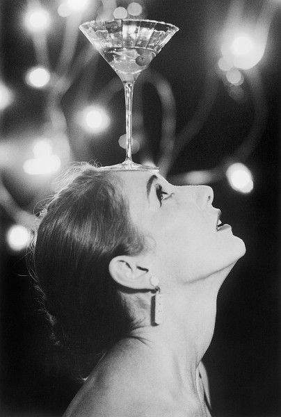 ⓒ Lincoln Clarkes - Anthea with her martini, Vancouver 1997. S)