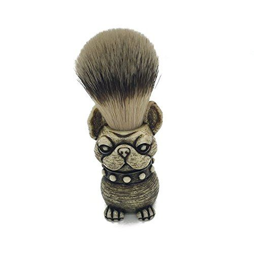 Shaving Brush Hand Crafted 100% Pure Badger with Resin Skull Shaped Handle Men's Luxury Professional Hair Salon Makeup Tool SZ04