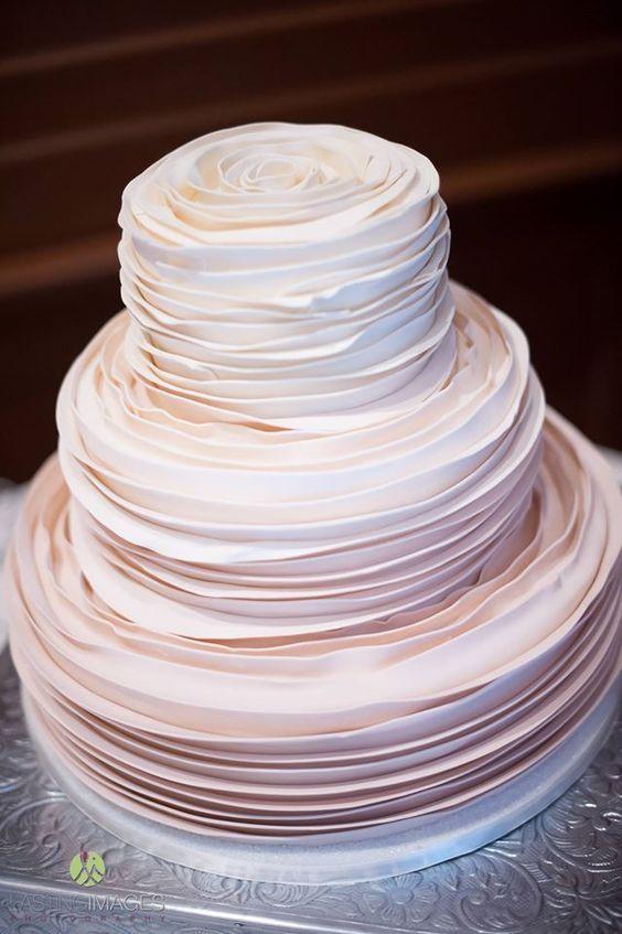 Wedding cake idea; Featured Cake: Piece of Cake Desserts