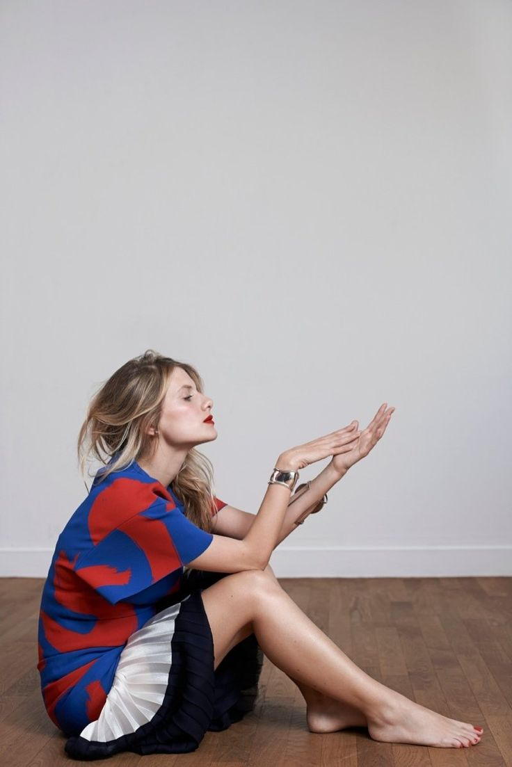 melanie laurent photo shoot6 Melanie Laurent Poses for Eric Guillemain in S Moda Spread