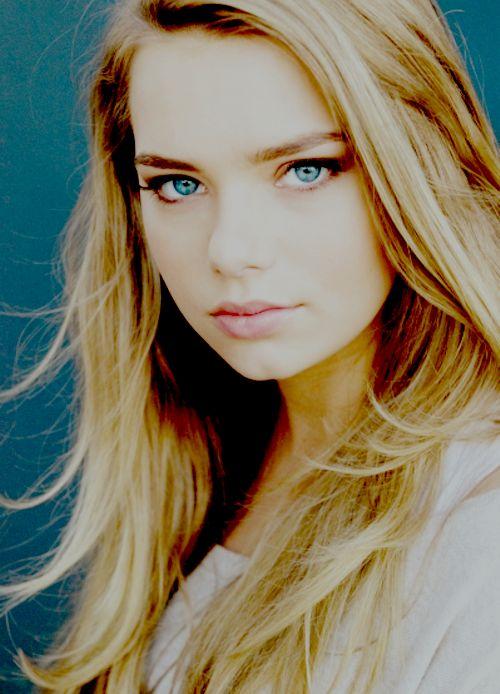Indiana Evans Blue Eyes