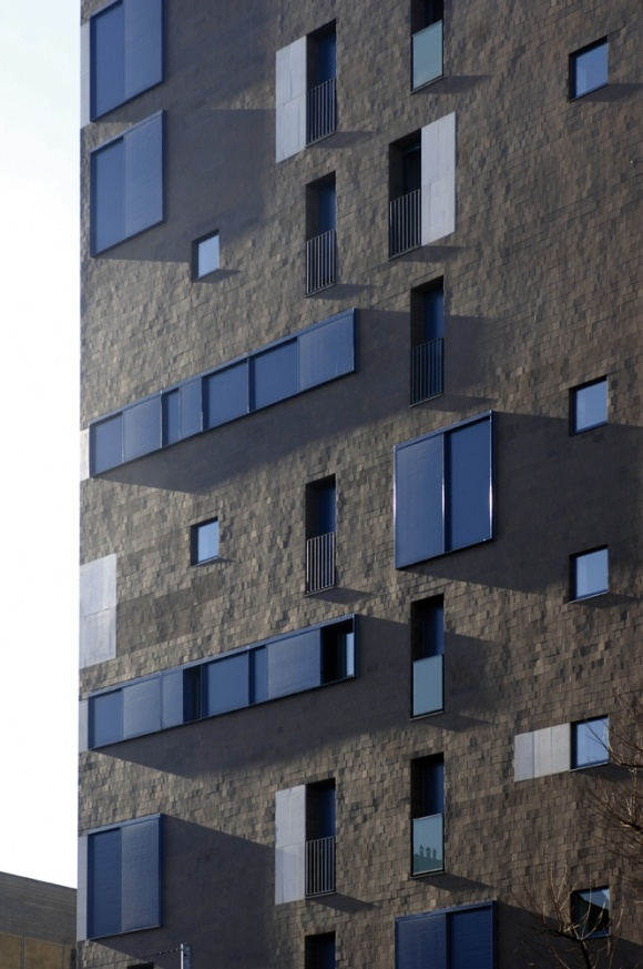 SUBSIDIZED RESIDENTIAL TALL BUILDINGS, NUOVO PORTELLO by CINO ZUCCHI ARCHITETTI