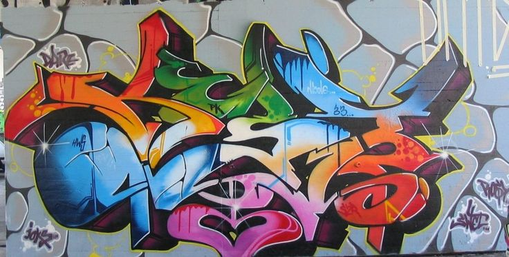 kleur graffiti wallpaper