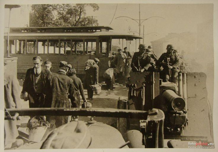 Tramwaje w Warszawie, Warszawa - 1939 rok, stare zdjęcia