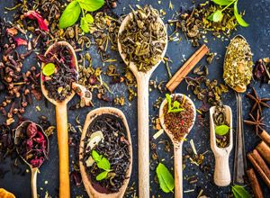 Health benefits of tea have been long known. Here is a terrific list of the most popular teas, fruit teas and herbal teas and how they can help you.