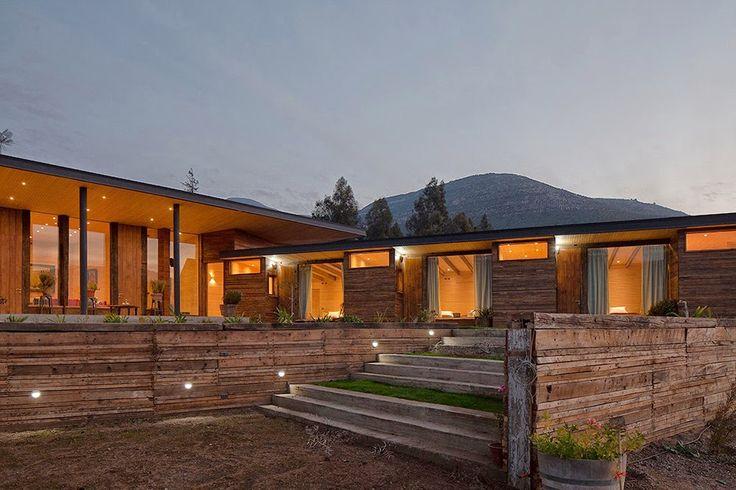 Casa de madera Dorr Schimidt Casa Corcolenda