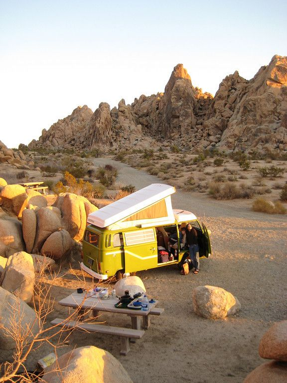Out on the Open Road:  Quirky Camper Rentals on the West Coast