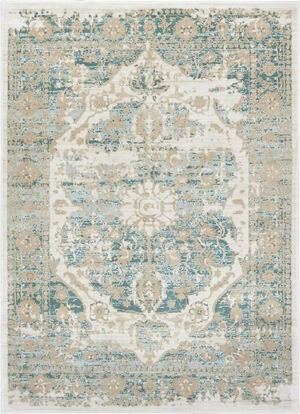 2918 Teal Blue Tribal Distressed Persian Area Rugs In 2019